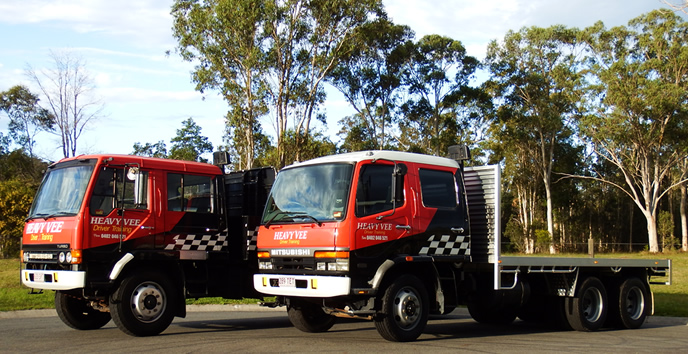 Heavy Vehicle HR and MR driver truck training